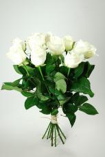 Bouquet de Grandes Roses blanches