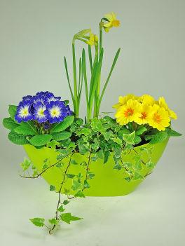 Composition florale fête des grand-mères